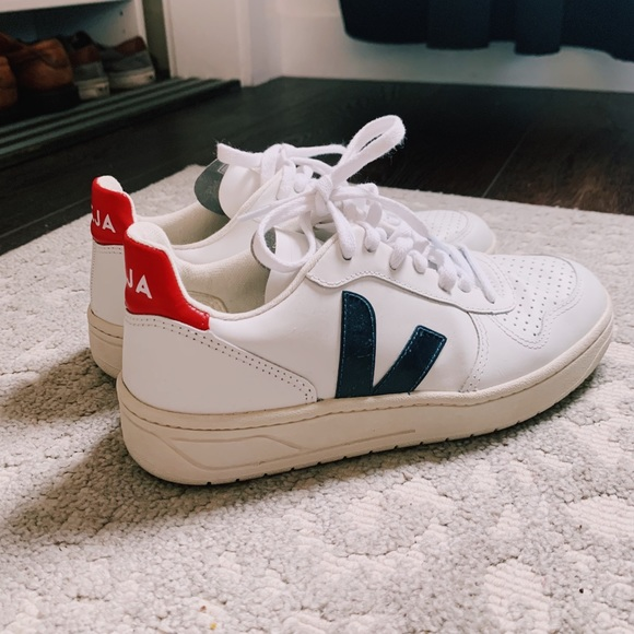 Veja V Sneakers In Colorblock Sz 37